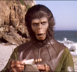 映画「猿の惑星」主人公のコーネリアス